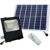 PROYECTOR CON PANEL SOLAR 20 W